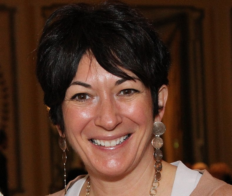 Ghislaine Maxwell at Child Cruelty Lunch
