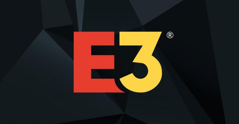 e3 logo event