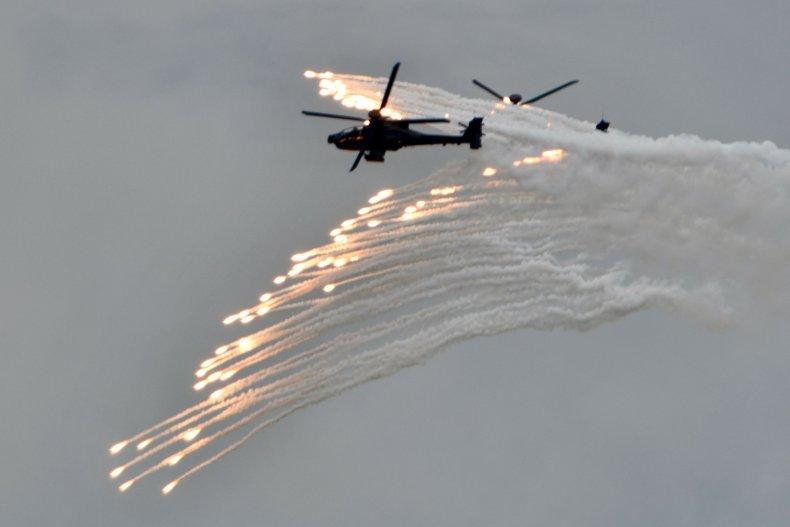 Taiwan military drill preparing for China war