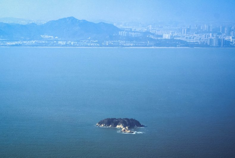 Taiwan's Outlying Island 3 Miles From China
