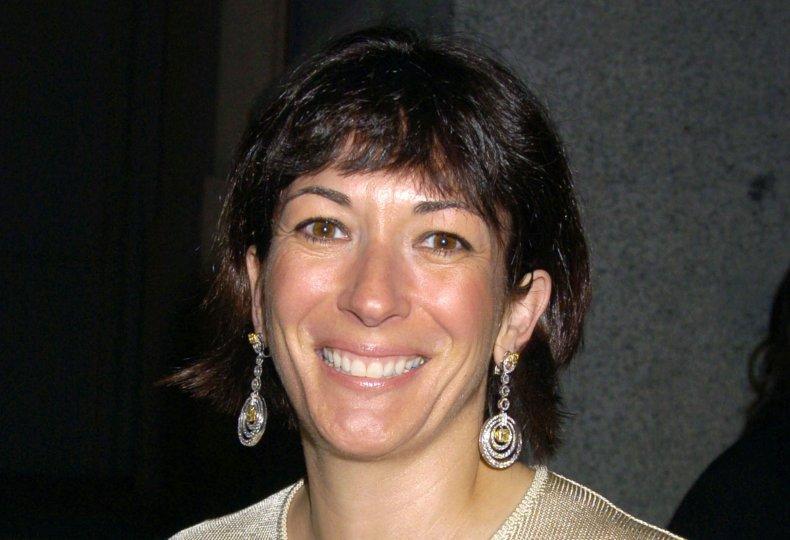 Ghislaine Maxwell at Cipriani's Wall Street