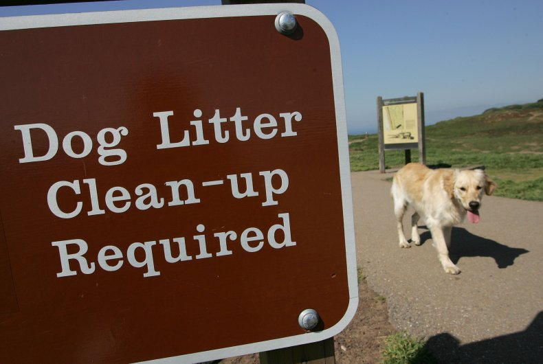 Clean Up Litter Sign