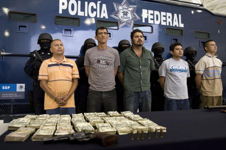Michoacan gang drug traffickers