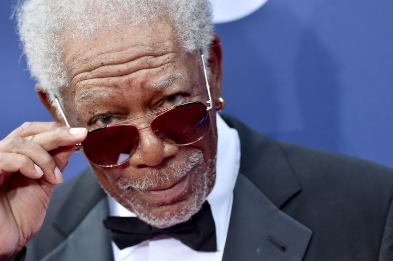 Morgan Freeman Says 'Get the Vaccine'