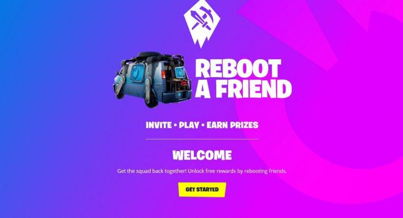 fortnite reboot a friend logo guide signup