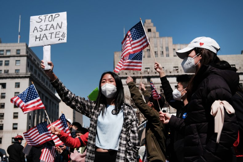 Hate Crimes, Protest, Asian American