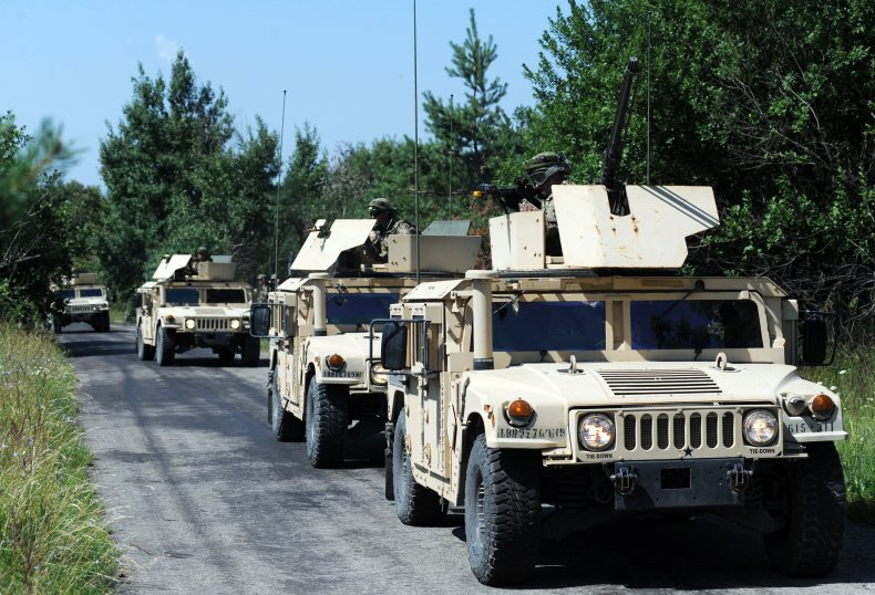 Humvees in Ukraine