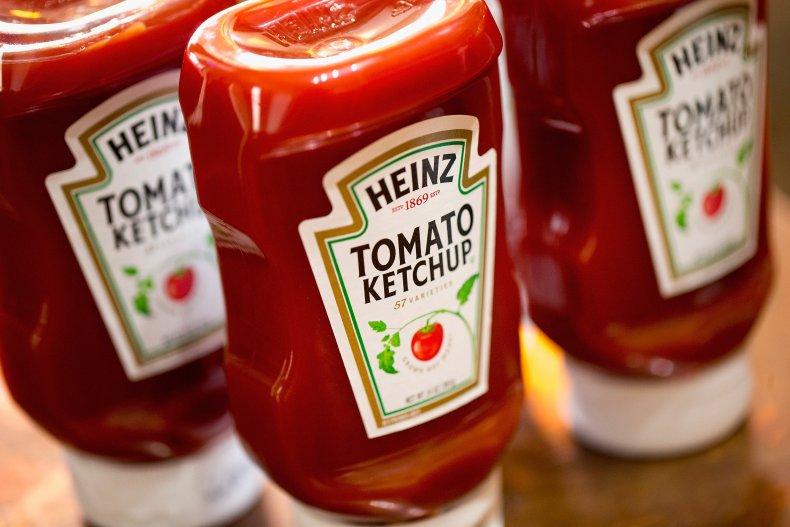 Heinz Tomato Ketchup Bottles