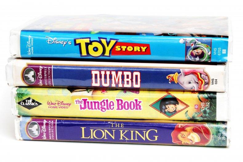 Vintage Disney videos