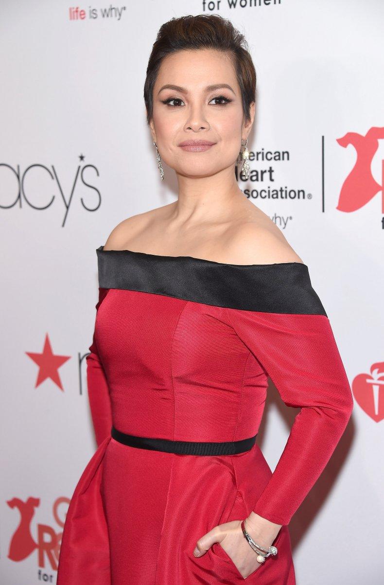 Performer Lea Salonga attends NYC fashion show