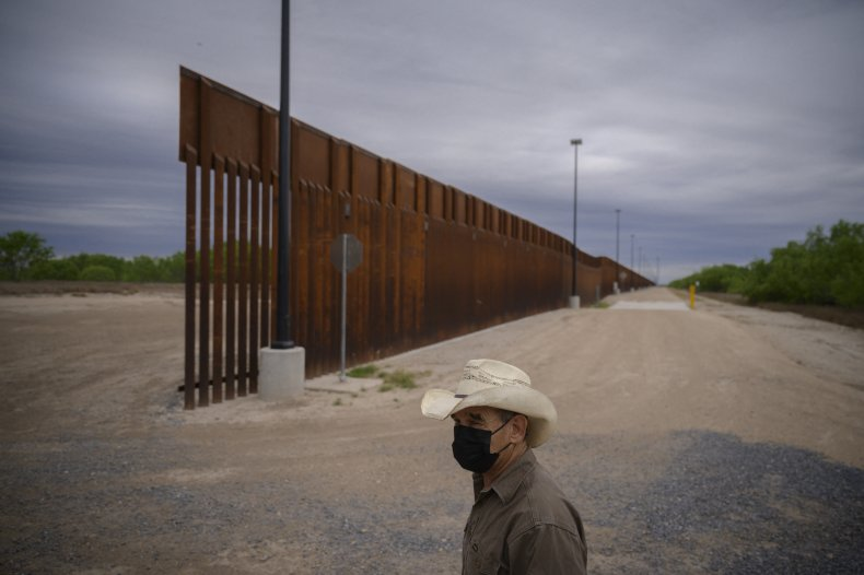 donald trump border wall biden construction