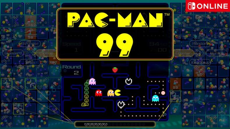 pac-man 99 nintendo switch online