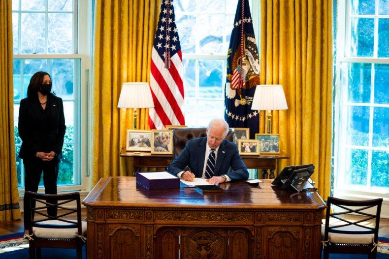 President Biden signs American Rescue Plan