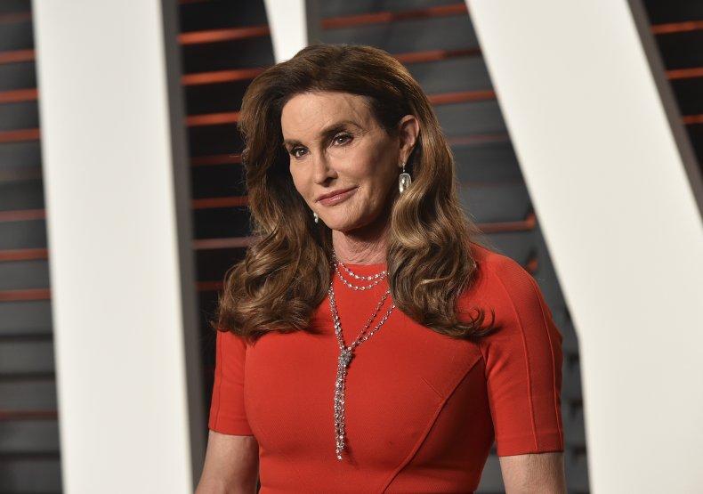 Caitlyn Jenner at Vanity Fair Oscars party