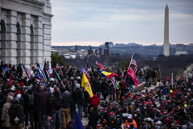 us capitol storming January 6, 2021