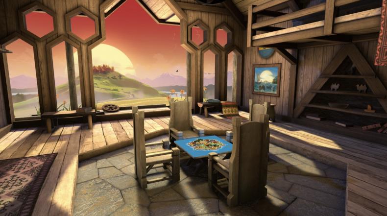 Catan VR game