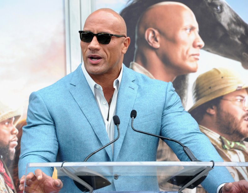 Dwayne 'the Rock' Johnson Presidential Run Poll