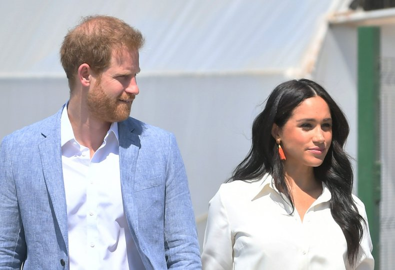 Prince Harry, Meghan Markle Tour South Africa