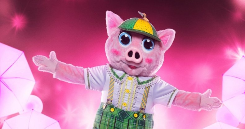 masked singer piglet identity