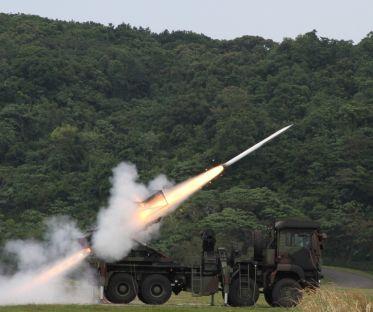 Taiwan Tests Anti-Landing Rocket Systems