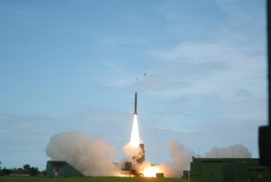 Taiwan Tests Anti-Air Missile Systems