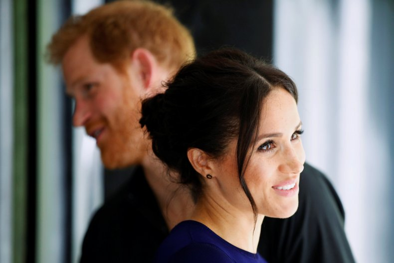 Meghan Markle, Prince Harry in New Zealand