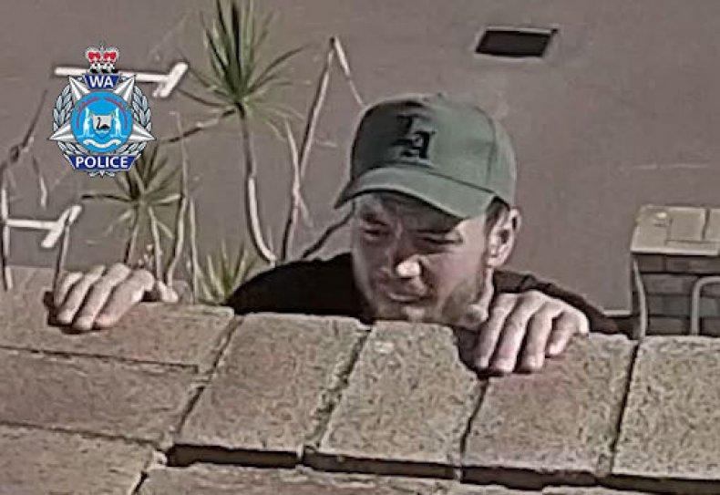 CCTV grab issued by Western Australia Police