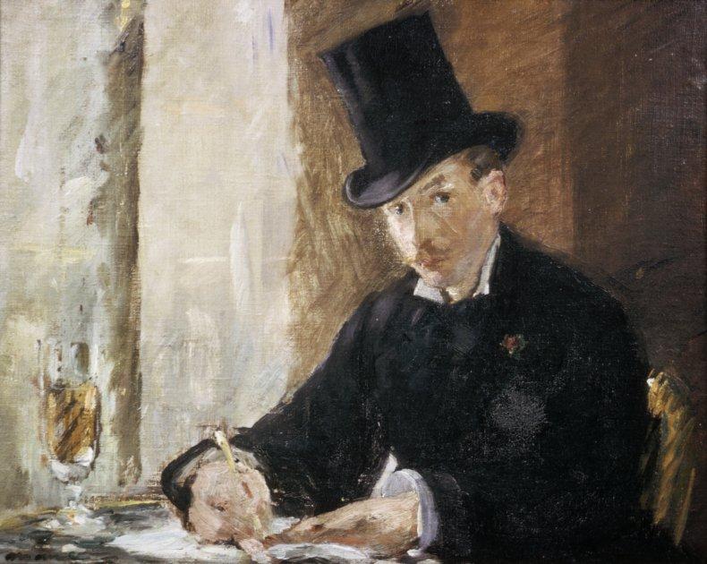 Chez Tortoni by Edouard Manet