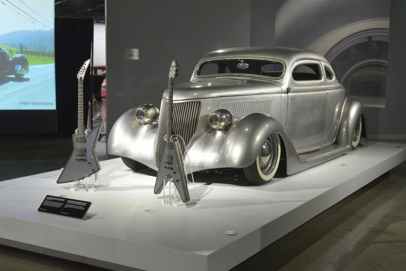 James Hetfield's Iron Fist car
