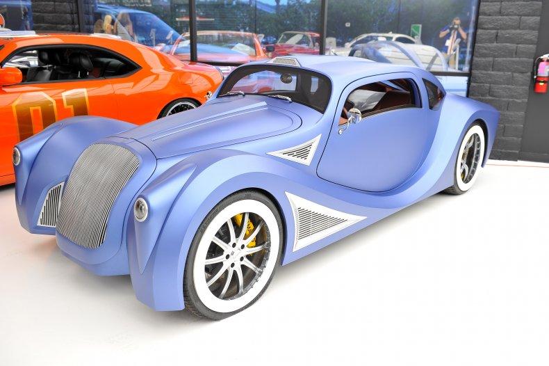 Will.i.am's custom VW Beetle