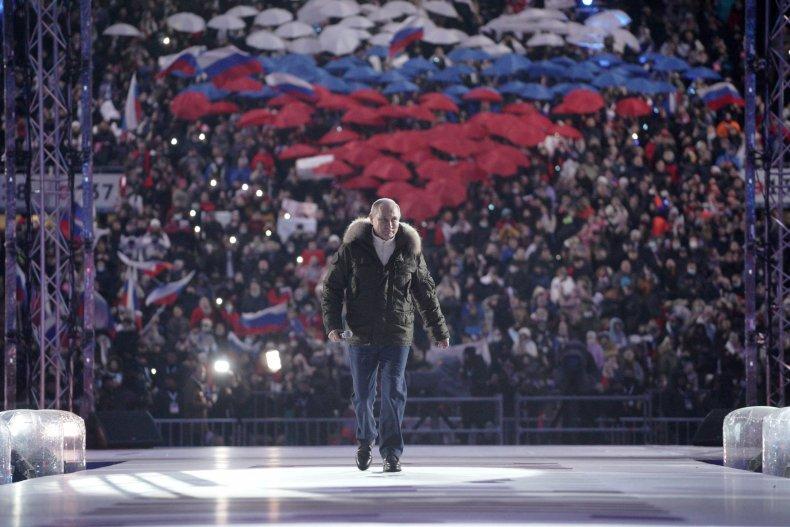 Russia, Vladimir Putin, Crimea concert