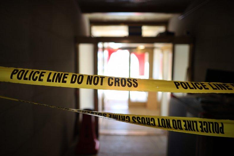 Ohio explosion police tape