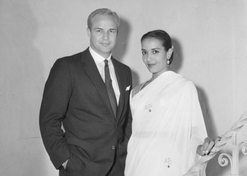1957: Brando marries Indian actress Anna Kashfi