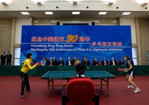Ping Pong Diplomacy Judy Bochenski