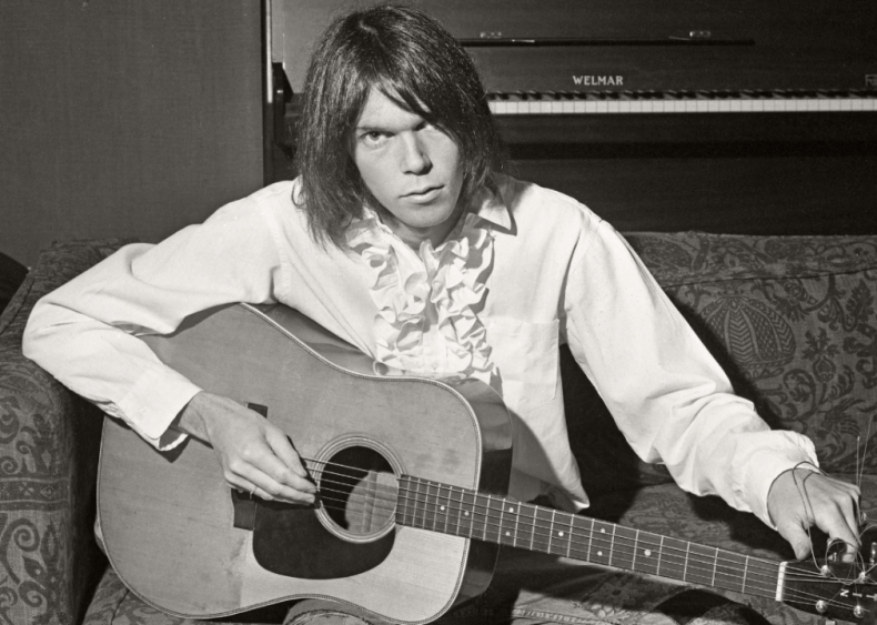 1972: 'Harvest' by Neil Young