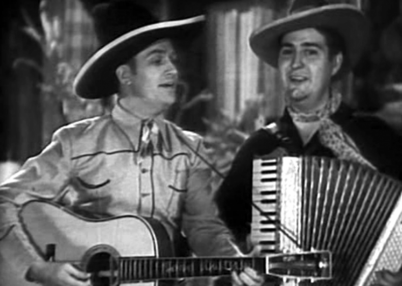 1934: Gene Autry stars in his first movie, 'In Old Santa Fe'