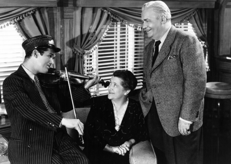 1936: 'Mid-Day Merry-Go-Round' begins