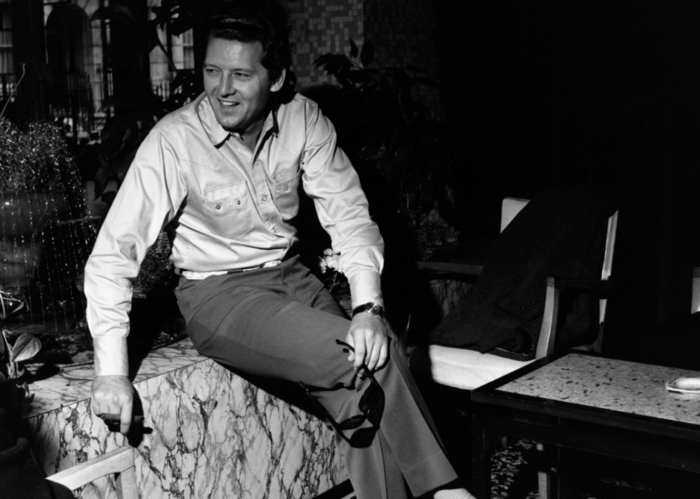 1957: Jerry Lee Lewis records 'Great Balls of Fire'