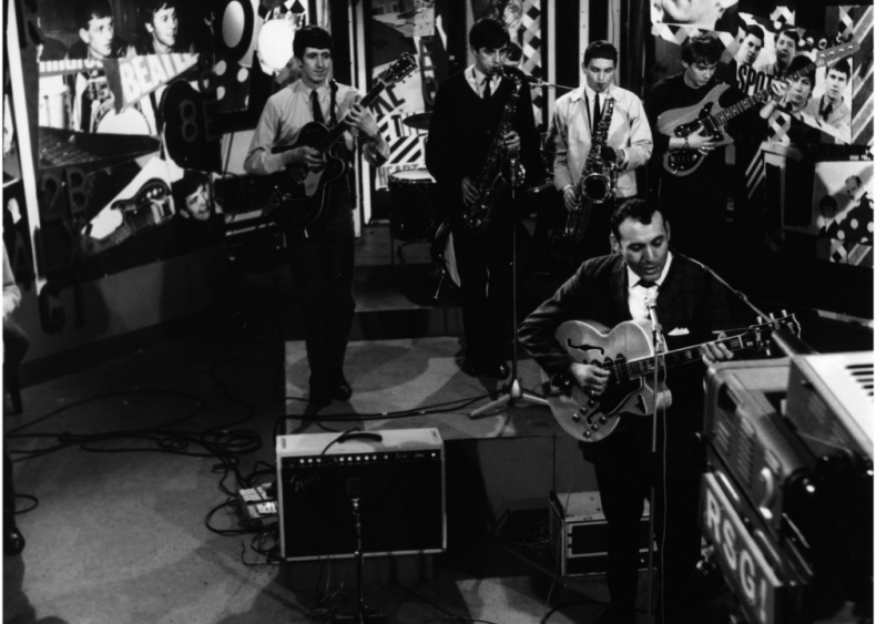 1956: Carl Perkins' 'Blue Suede Shoes' becomes a hit