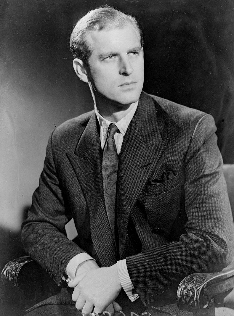 Lieutenant Philip Mountbatten in November 1947