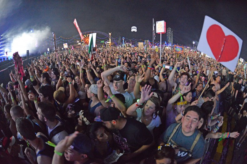 2016 Electric Daisy Carnival in Las Vegas