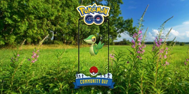pokemon go snivy community day event