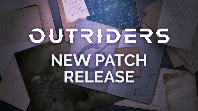 outriders update 105 patch notes