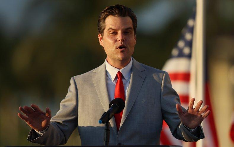 Rep Matt Gaetz Rally Speech