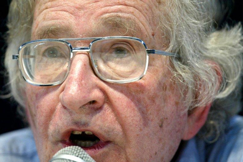 Noam Chomsky linguist libertarian socialist provocateur activist