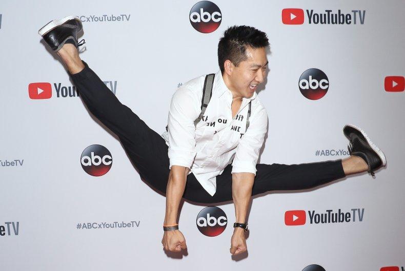 Dancer Alex Wong at NYC event