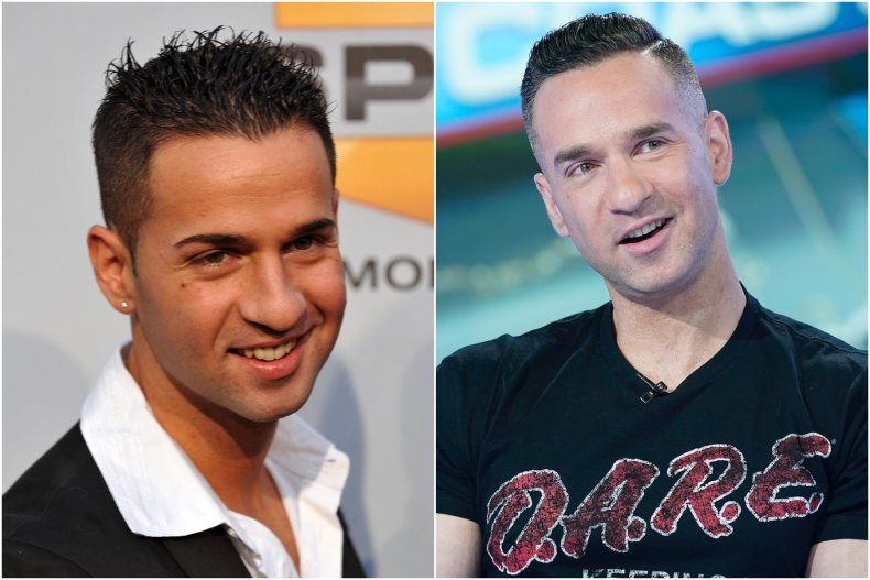 Mike 'The Situation' Sorrentino then and now