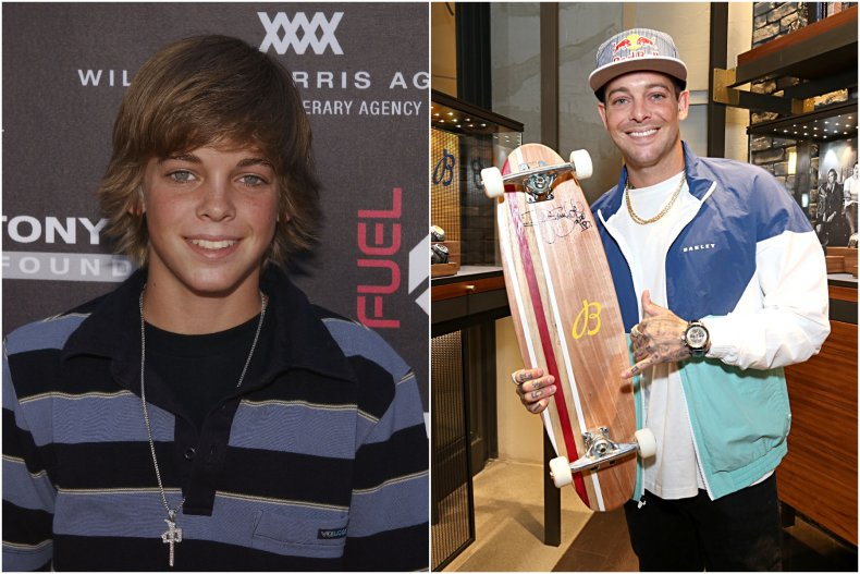 Ryan Sheckler then and now