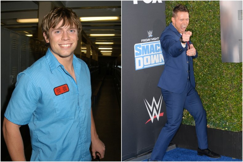 "Mike ""The Miz"" Mizanin then and now"