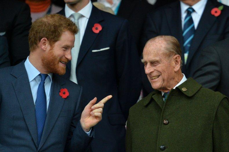 Prince Harry and Prince Philipa